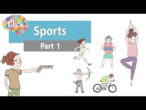 Click [by Mahidol] Sports ตอนที่ 1 - เรียนภาษาอังกฤษกับการออกกำลังกาย