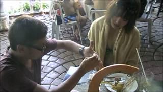 philippine s amazing magician jb perform card tricks with japanese girls in cebu