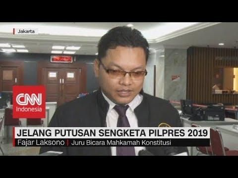 RPH Rampung, MK Siap Putuskan Hasil Gugatan Pilpres