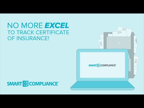 SmartCompliance Insurance Certificate Tracking Software Overview