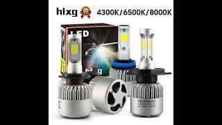 ВАЗ 2114. Светодиодные лампы в фары. Китай посылка. Aliexpress.