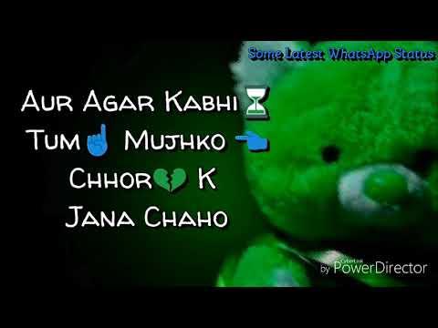 Whatsap Status.Ek Promise Chahiye Aapse...