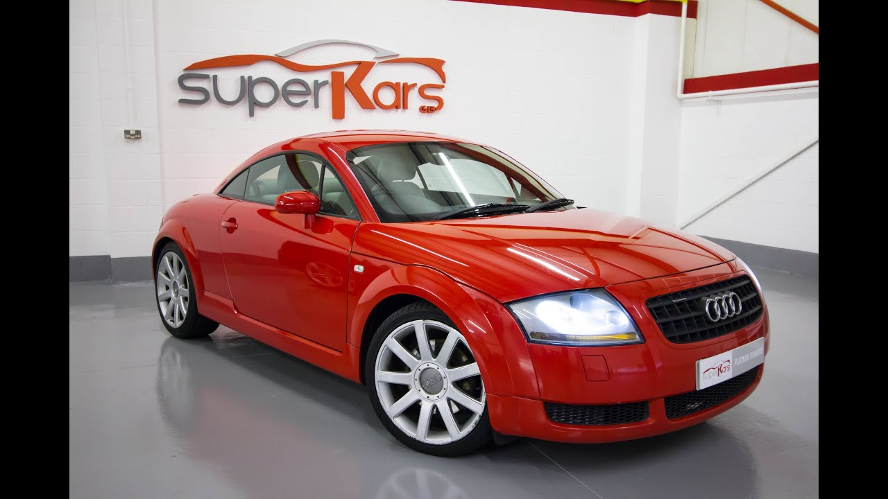 audi tt 225 s line spec 2003 youtube. Black Bedroom Furniture Sets. Home Design Ideas
