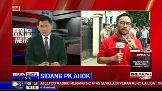 Sidang PK Ahok, Massa 2 Kubu Berkumpul di Luar PN Jakut