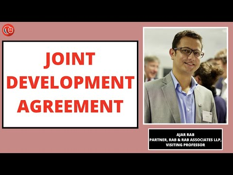 Webinar on Joint Development Agreement