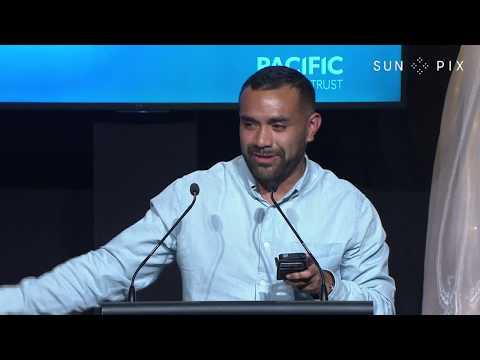SunPix Pacific Peoples Awards 2017 - Josiah Pasikale speech