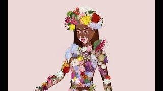 Digital painting of Winnie Harlow by Heyitsferrari