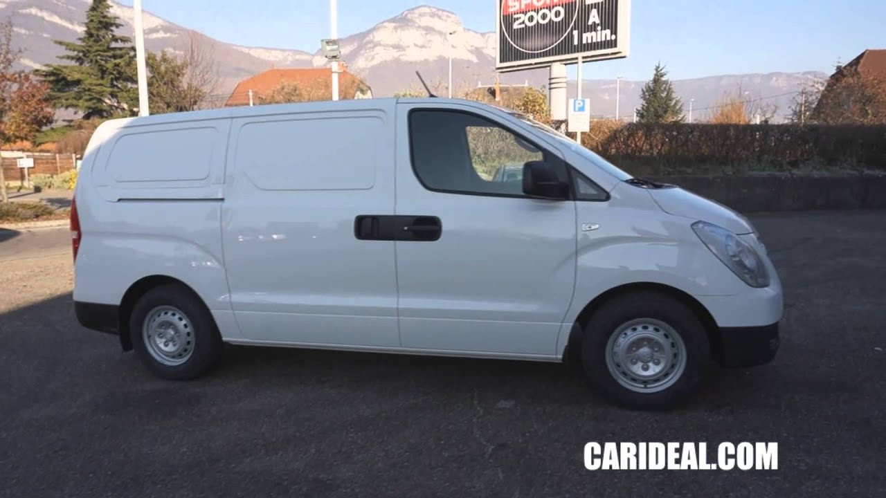 achat camionette hyundai h1 carideal mandataire automobile chambery youtube. Black Bedroom Furniture Sets. Home Design Ideas