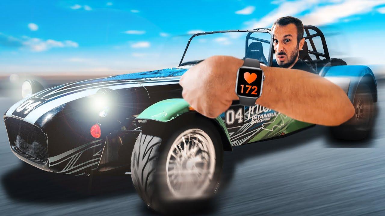 Yarış Arabasında KALBİ En Az Atan Kazanır!!