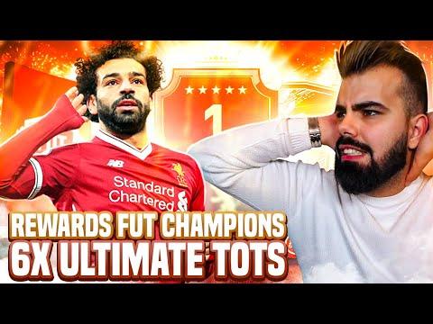 REWARDS FUT CHAMPIONS! 6 ULTIMATE TOTS +  RED PICKS!