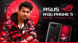 Im Ready To RULE THEM ALL With ASUS ROG PHONE 5 | UNBOXING ASUS ROG PHONE 5