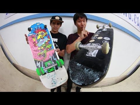IMPOSSIBLE BOARDS | YOU MAKE IT WE SKATE IT WARS Ep 8