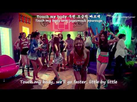 Sistar - Touch My Body MV [Eng Sub+Romanization+Hangul] HD