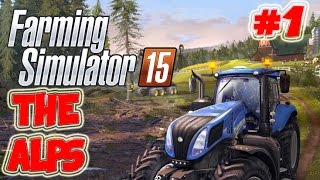 Farming Simulator 2015 Silage time Alps map