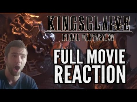 Final Fantasy XV Kingsglaive: Peasants full movie reaction highlights and review