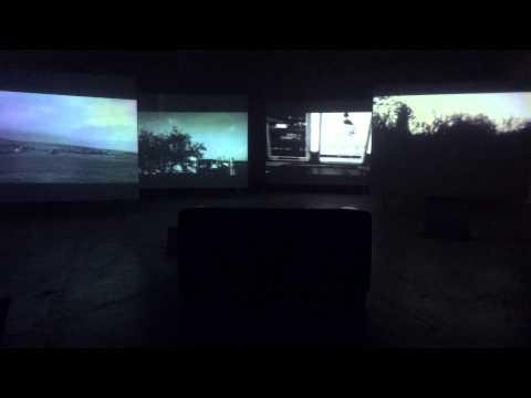 Optical Frameworks (Martin Dlabaja), Videoinstalation @ galerry Aula, Brno