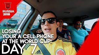 Losing Your Cell Phone at the World Cup: day 7