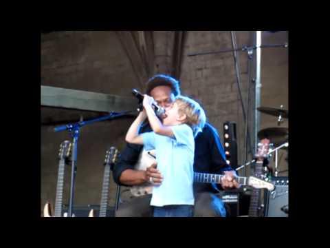 Gary Dourdan and Baby Gaga