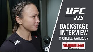 "UFC 229 - Michelle Waterson - ""When You Get in There it Really is Only You and Your Opponent"""
