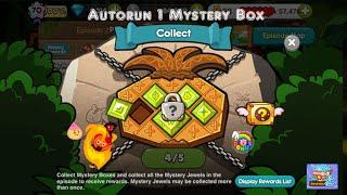 [CookieRunSS4] ออโต้รันเก็บกล่องบิน EP.2 คุกกี้ภูตอัคคี + ชีสดรอป | Autorun 1 Mystery Box