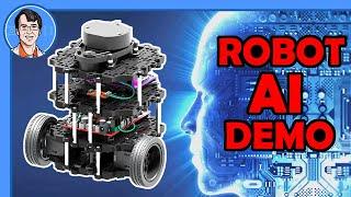 Robot AI Demo - NVidia Deep Learning, ROS Navigation, Raspberry Pi
