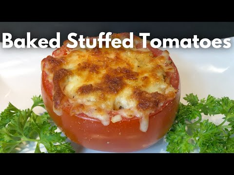 Ground Poultry Stuffed Tomato plants