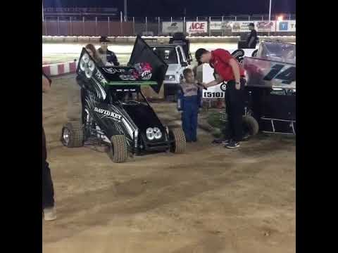 Colton Key interview on his podium finish at Delta Speedway 8/19/17