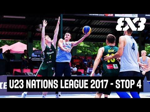 LIVE - FIBA 3x3 U23 Nations League 2017 - Stop 4 - Colombo, Sri Lanka