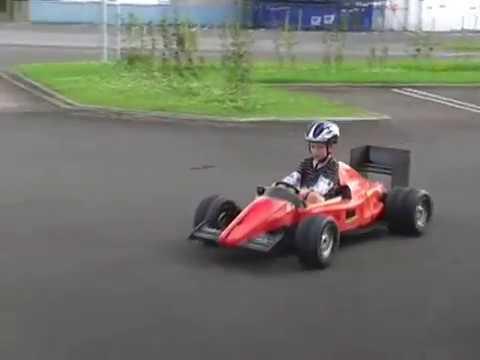 Ferrari Electric Ride On F1 Kids Car Reed 24v Dc 500w Go Kart Panlongic Sd Controller