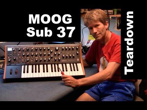 MOOG Sub 37 teardown no CV Output ?  MF# 50