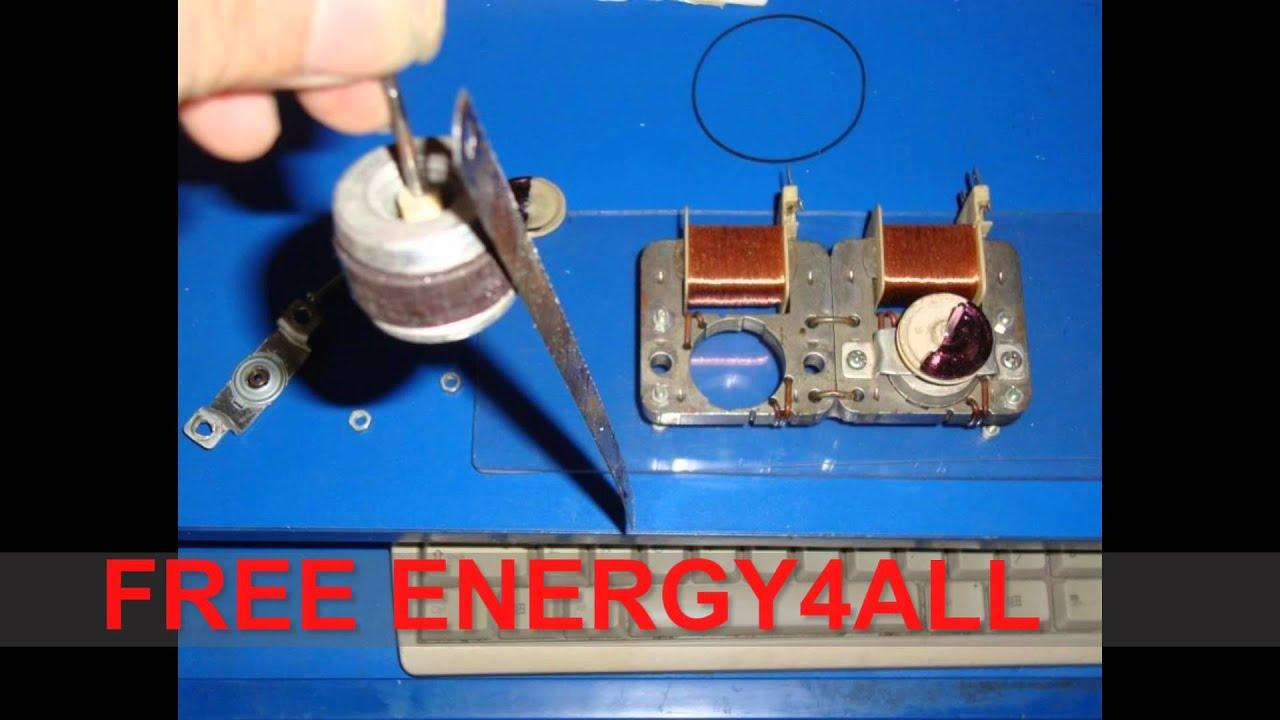 Overunity Free Energy Generator Shaded Pole Motors Self