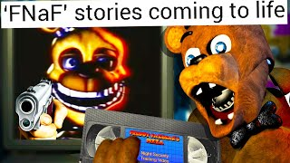 FNAF was REAL BEFORE the Chuck E. Cheese INCIDENTS!? (the LOST Training Tapes)