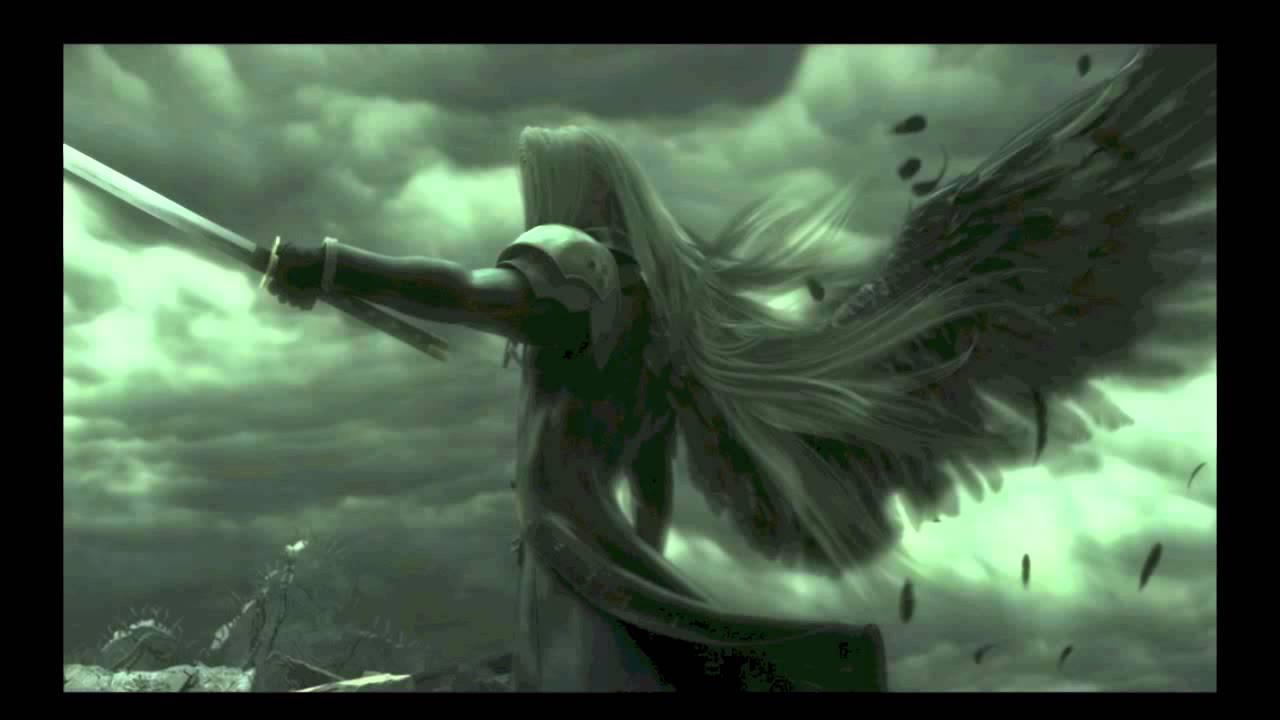 Sephiroth One Winged Angel Advent Children Nightcore the one winged ... One Winged Angel Sephiroth