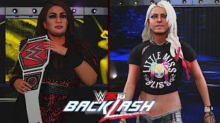 WWE Backlash 2018: Nia Jax vs. Alexa Bliss (Raw Women's Championship)