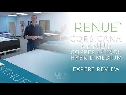 Corsicana Renue Copper 14 Inch Hybrid Medium Mattress Expert Review