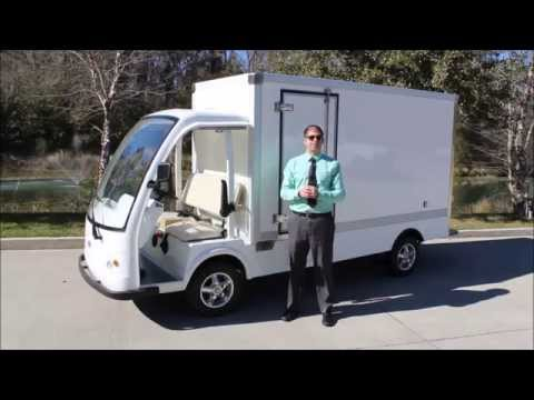 Electric Cargo Truck by citEcar Electric Vehicles - Electric Utility Vehicle for Sale