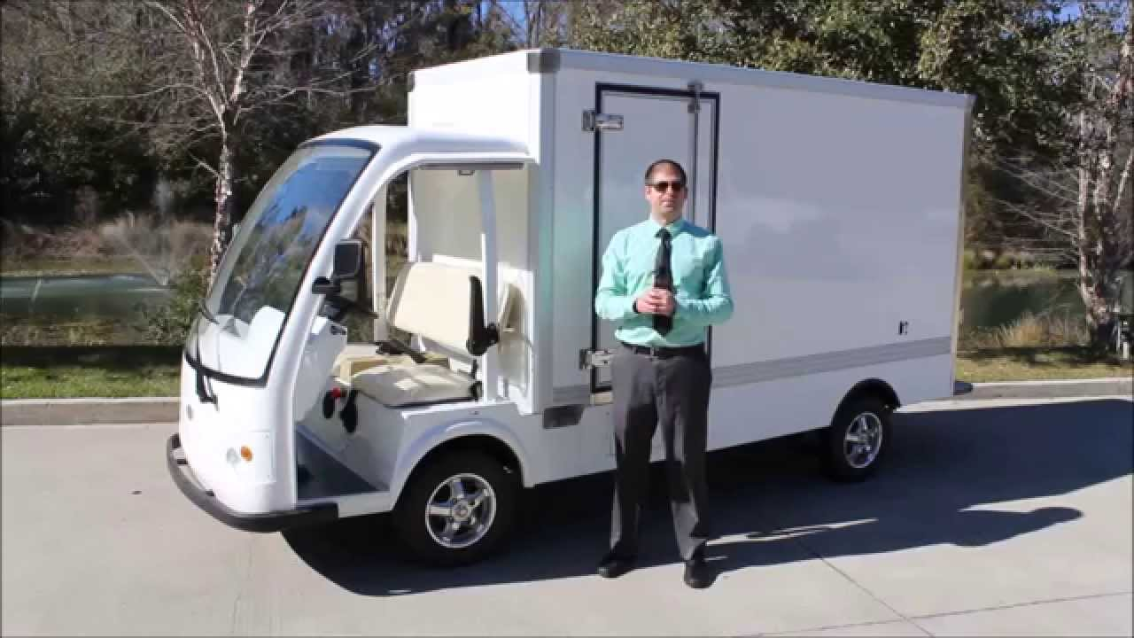Electric Cargo Truck By Bintelli Electric Vehicles