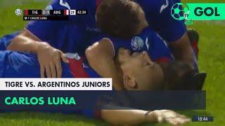 Carlos Luna (2-1) Tigre vs Argentinos Juniors | Fecha 12 - Superliga Argentina 2018/2019