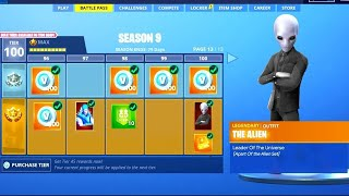 (VITE) UNLOCK THE SEASON 9 COMBAT PASS FOR FREE. MERCI FORTNITE ✔