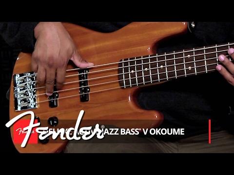 Fender Active Jazz Bass V Okoume