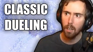 Asmongold Duels Viewers Outside Of Ironforge In The Classic WoW Beta