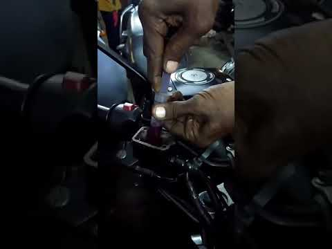 How to clean Yamaya FZ-disk oil chamber and filling oil .