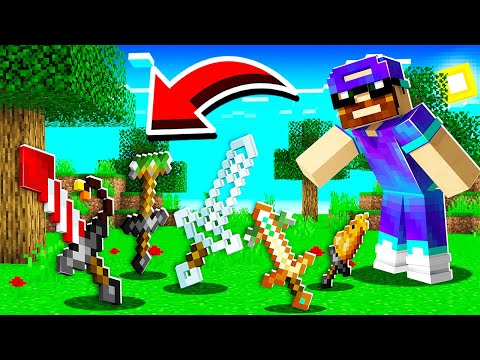 J'ai ajouté 40 nouvelles épées CUSTOM à Minecraft !