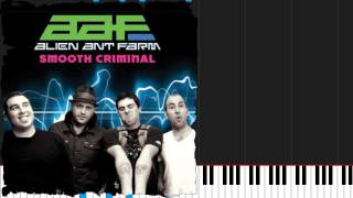 How to play Smooth Criminal by Alien Ant Farm on Piano Sheet Music