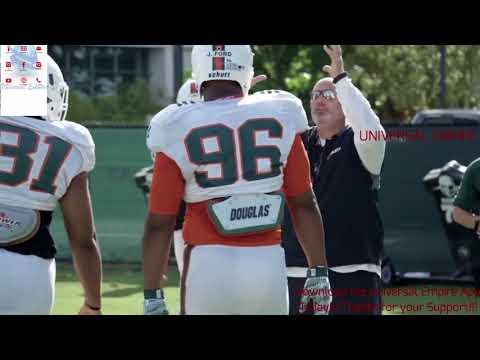 🙌🏾University of Miami Hurricanes Football Coach Manny Diaz & D Line Coach Jess Simpson
