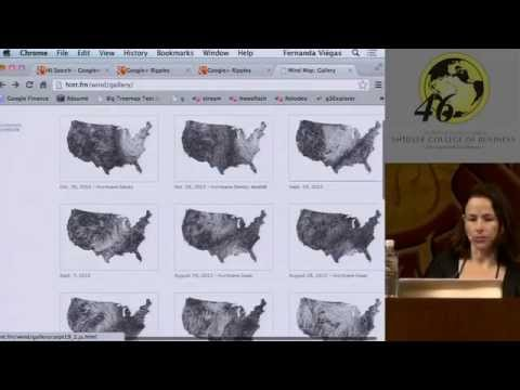 HICSS-46: Keynote Address on Culture Visualization by Fernanda Viegas