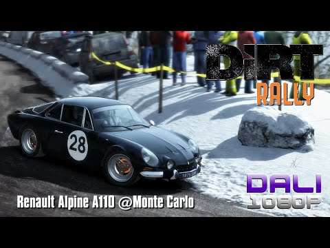 DiRT Rally Renault Alpine A110 @Monte Carlo PC Gameplay 60fps 1080p