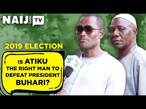 Is Atiku the Right Man to Defeat President Buhari? 2019 Election -  Nigeria Street Gist | Legit TV