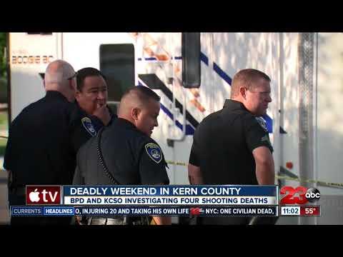 Deadly weekend in Kern County