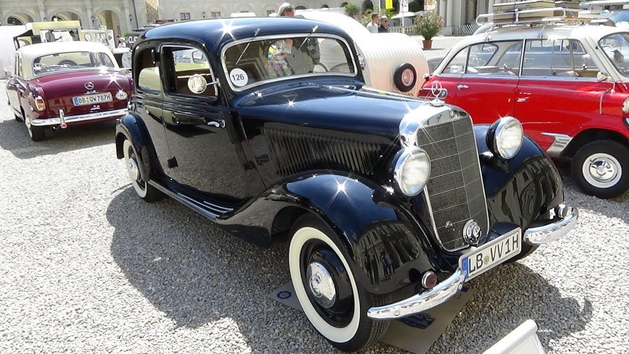 1950 Mercedes-Benz 170 VA - Exterior and Interior - Retro ...